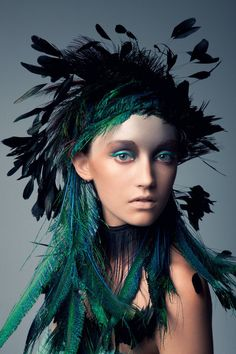 """Bird of Paradise"" | Model: Brittany Hollis, Photographer: Jeff Tse, 2011"