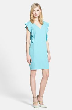 Chelsea28 Ruffle Sleeve Shift Dress | Nordstrom