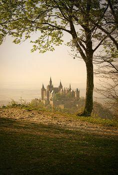 On the Edge by hipydeus, via Flickr - fairytale castle :) Burg Hohenzollern