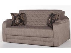 Verona Loveseat/Full Sleeper in Redeyef Brown by Istikbal