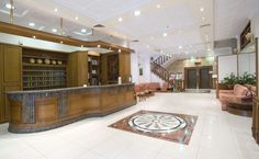 Reception/Entrance at Emmantina Hotel, Athens , Greece