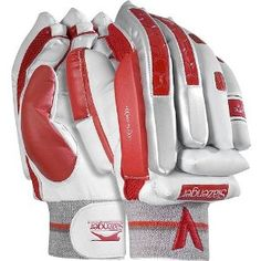 """Slazenger Cricket Elite X-Lite Gloves - wicket keeper gloves - Bob Whittle quote (Yorkshire Pro in 50s & 60s): """"would have liked to have had these gloves when I played as a 13 yr-old with broken fingers :) A batsman didn't like my comments and hit me during play breaking my fingers!! more about Bob Whittle the author at www.jrobertwhittle.com"""