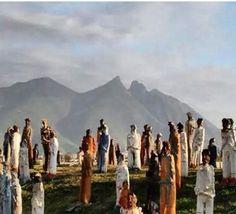 Día 7 desafío #ThaliaEnVivo Esta foto me encanta !!! #escapadacultural en el 2007 fuimos a #Monterrey y así se veía el #CerrodelaSilla con la exposición #2501migrantes de Alejandro Santiago #ad @thalia @hbolatino Concierto 5 de septiembre #statigram #picstich #pictureofthedayhttp://checalamovie.net/2014/08/21/thaliaenvivo-concierto-que-celebra-la-hispanidad-twitter-party-y-desafio-en-instagram/