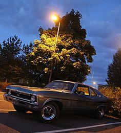 American cars in Finland..SS Nova