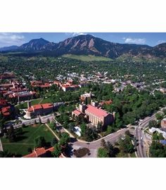 View of Colorado Campus