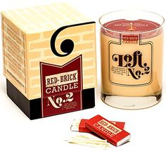 Scented Candles - Spicy Cinnamon Bark Soy Based Wax Candle (10.9 oz) By Red Brick Candle - Over 75 Hours of Burn Time Red Brick Candle http://smile.amazon.com/dp/B00JGT09PM/ref=cm_sw_r_pi_dp_hfX9wb0RDH4K9
