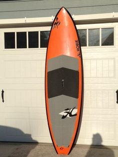 """Used 8'11"""" Hobie Colin McPhillips Torque Surf SUP Distressed Mullet Classifieds  NC $800"""