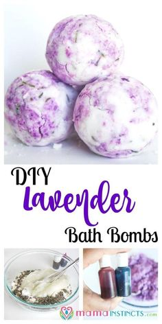 Try this easy lavender, lemon and peppermint bath bomb recipe and give yourself a spa like experience in the comfort of your home.