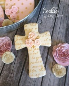 Cross cookies by Melissa Sue More