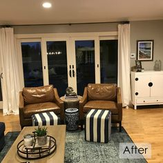 Before & After :: Farmhouse Meets Coastal Style in Palos Verdes California