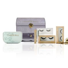 House of Lashes Disney Tinkerbell Treasure Chest False Lash Collection Case BNIB  | eBay