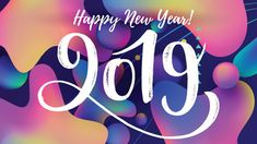 cute trendy new year 2019 background image happy new year images happy new year 2019