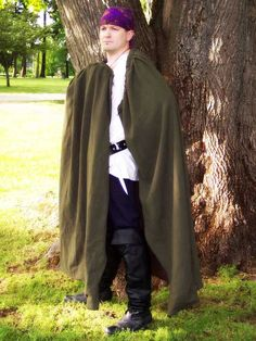 In the world of renaissance and medieval cloaks, simple cloaks are a dime a dozen. Thats why we dont offer simple cloaks. Durability and style