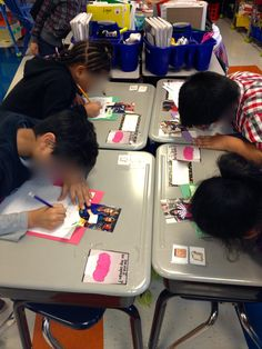 """LOVE this idea! Take pictures of the students and play a """"SCOOT"""" game where they have to write a sentence about the person in the picture, using a possessive noun (person's name)"""