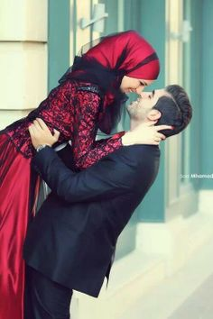This collection of 200 Most Romantic Muslim Couples Islamic Wedding Pictures will amaze you with how romantic the bride and groom can look for their Islamic wedding. Cute Muslim Couples, Muslim Girls, Muslim Women, Cute Couples, Hijab Bride, Wedding Hijab, Romantic Photos, Romantic Couples, Beauty