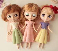 Sneak peek!!  Coming soon - Fairy Tale Bythe outfit pattern!!