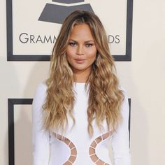 The expert behind Chrissy Teigen's sexy waves explains how to get her look.