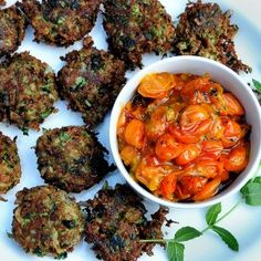 Local zucchini is just around the corner...are you ready?  http://oracibo.com/recipe/zucchini-fritters-cheese/
