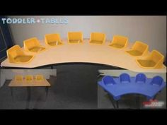 All Four, Six And Eight Seat Toddler Tables Options | Preschool & Daycare Furniture | Worthington Direct