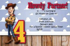 A Disney Mom's Thoughts: Woody Cowboy Birthday Party
