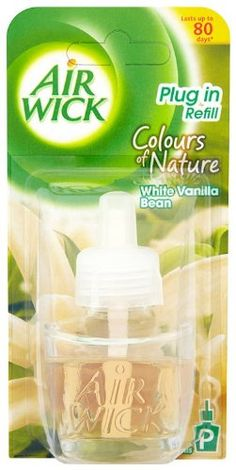 Air Wick Plug In Refill Colours of Nature White Vanilla Bean 17 ml (Pack of Six)