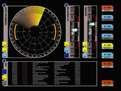 Perimeter sensor schematic; U.S.S. Enterprise NX-01