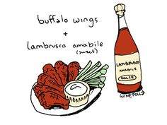 pairing wine with buffalo wings http://wfol.ly/1MvOYfz