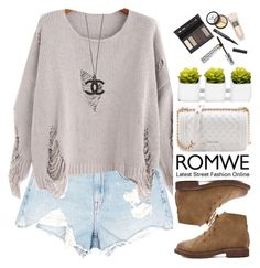 """""""Romwe"""" by oshint ❤ liked on Polyvore featuring Alexander Wang and Borghese"""