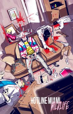 El visceral Hotline Miami vuelve a los cómics con Wildlife, una cruda historia de sangre y pólvora