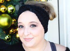 Fairy Tale Winter Headband in Black