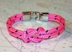 nautical versions of friendship bracelets! a great idea for preppy friends