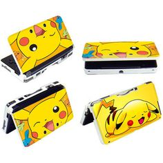 Nintendo 3DS Protective Hard Case Shell Cover Pokemon- Pikachu