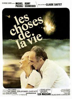 Romy Schneider et Michel Piccoli // Les choses de la vie - de Claude Sautet - (1969)