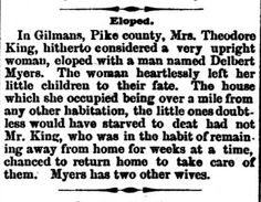 Genealogical Gems: On This Day: Myers takes third wife