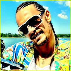 """James Franco in """"Spring Breakers."""" I saw this trailer last night and was not aware that this was him!"""