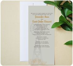 Urbanity Studios Windmill Themed Western Wedding Invitation