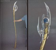 Haven't seen a lot of Loki staffs on the net, So I thought Id share how I made mine, that way, you can do the same, or use my same techniques to make something...