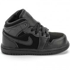 1eb6ef5b041 Air Jordan Phat 1 Infant Toddler Lifestyle Shoe (Black)