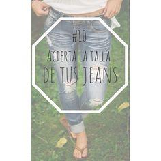 #10 Acierta la talla de tus jeans  Te encantan esos pantalones pero no te los puedes probar o no tienes tiempo, don't worry! Los jeans serán de tu talla si la cintura envuelve tu cuello a la perfección #tips #trucos #clothingtips #fashiontips #blogger #fashionblogger #instablog