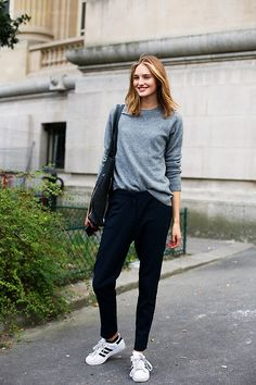 5f094148c80f Crew Vogue Spain Fash-N-Chips Here  your ultimate guide on how to wear  Adidas sneakers! Emilie Lilja The Chic Street Journal