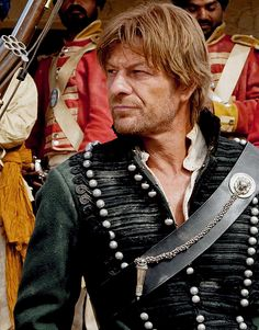 Sean Bean - he can always be relied upon to liven up a costume drama