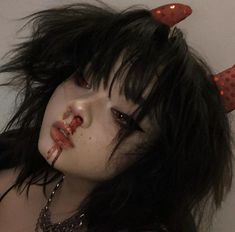 Aesthetic Grunge Outfit, Goth Aesthetic, Aesthetic Women, Aesthetic People, Gothic, Goth Makeup, Grunge Girl, Attractive People, Ulzzang Girl