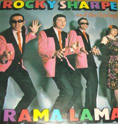 Rocky Sharpe and The Replays Disco de cinilo RAMA LAMA