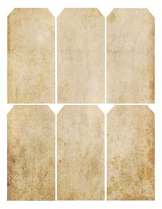 Grungy texture ~ free printable gift tags