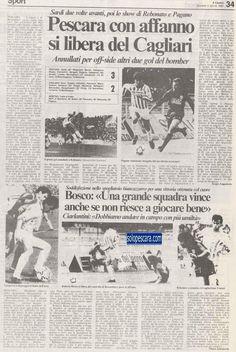 SCRIVOQUANDOVOGLIO: CALCIO SERIE B:23°GIORNATA (08/03/1987)