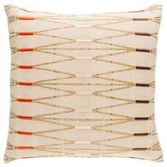 The Kikuyu Pillow is made by experts by merging form with function at Surya and is translated as the most relevant apparel and home decor trends into fashion-forward products across a range of styles and price points.   Front: 100% Cotton, Back: 100% Cotton Woven Knife Edge Color: Beige, Tan, Dark Brown, Blush, Bright Orange, Bright Pink, Medium Gray, Mauve, Lilac Made in India