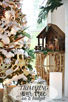Ideas On Pinterest Rustic Christmas Christmas Home And Home Tours