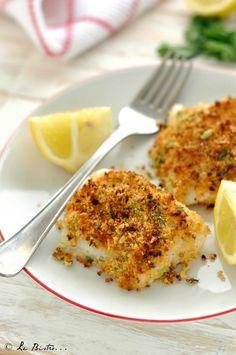 Cod au gratin, low-calorie and fast recipe – Shellfish Recipes Calamari Recipes, Shellfish Recipes, Seafood Recipes, Gourmet Recipes, Healthy Recipe Videos, Healthy Recipes, Light Recipes, Soul Food, Italian Recipes