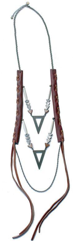 Golden Arrow Necklace http://shop.nylon.com/collections/whats-new/products/golden-arrow-necklace #NYLONshop