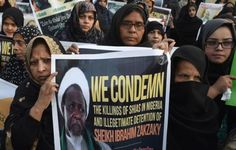 """Nigeria's army has been accused of """"mass slaughter"""" of Shiite Muslims"""